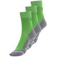 axant Trekking Socks Children 3 Pack grey/green